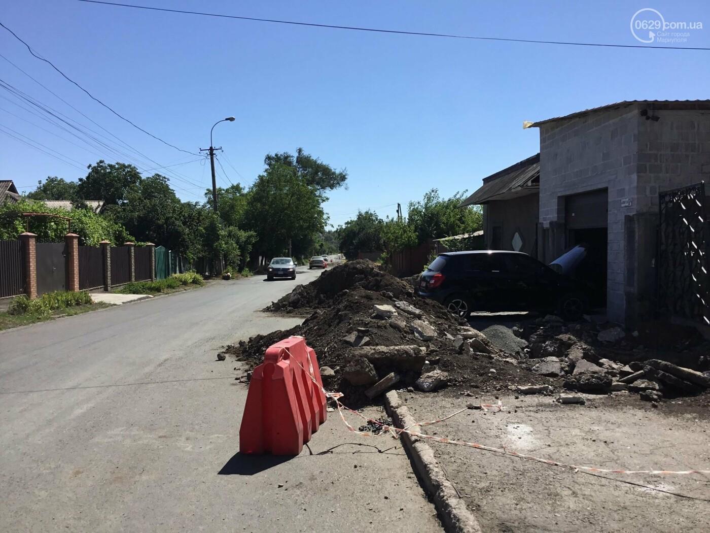 В Мариуполе «Горводоканал» начал масштабные работы по замене магистральных водоводов, -  ФОТО, фото-2