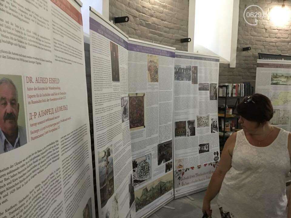 В Мариуполе открыли выставку о пребывании немцев в Украине,- ФОТО, ВИДЕО, фото-1