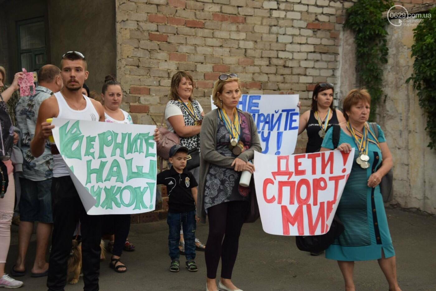"""Спасение """"Зироньки"""": в  Мариуполе дети устроили танцевальный флешмоб под зданием мэрии, - ФОТО, фото-2"""