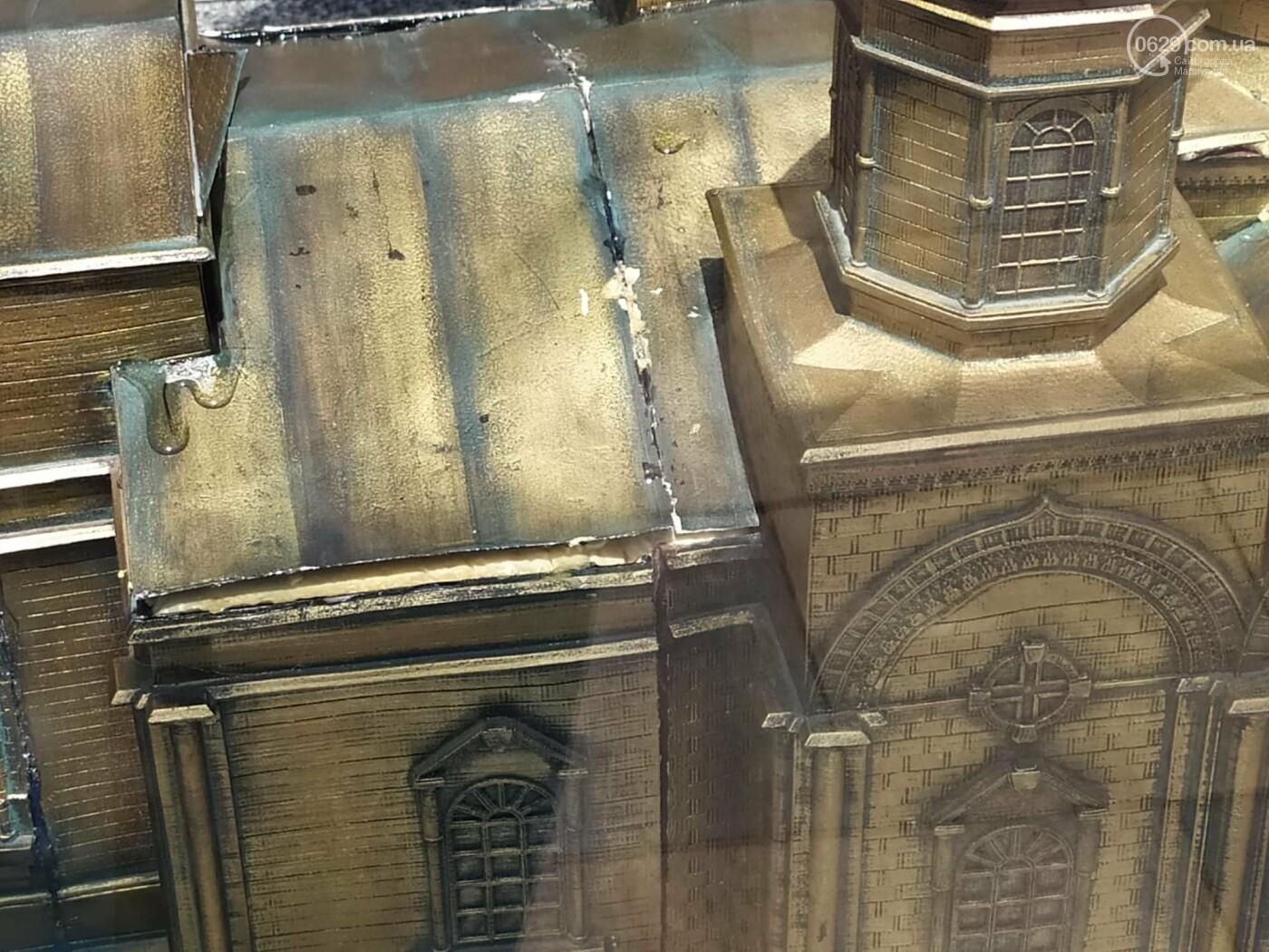 В Театральном сквере снова исчез макет храма Марии Магдалины, - ФОТО, фото-5