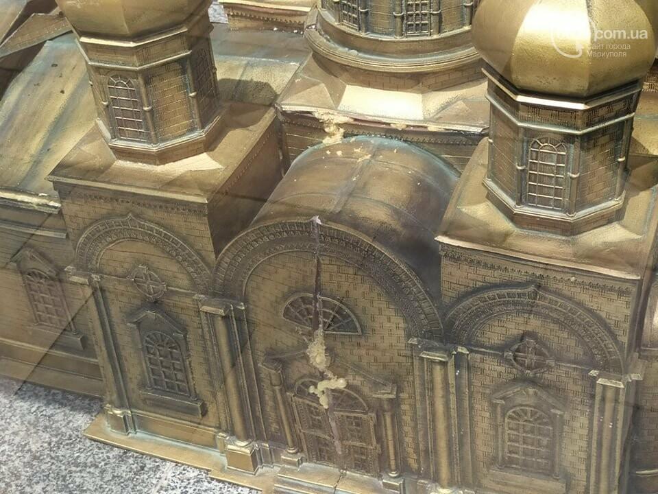 В Театральном сквере снова исчез макет храма Марии Магдалины, - ФОТО, фото-9