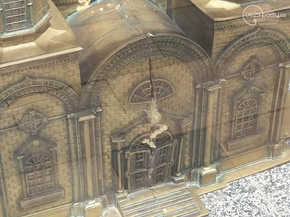 В Театральном сквере снова исчез макет храма Марии Магдалины, - ФОТО, фото-6