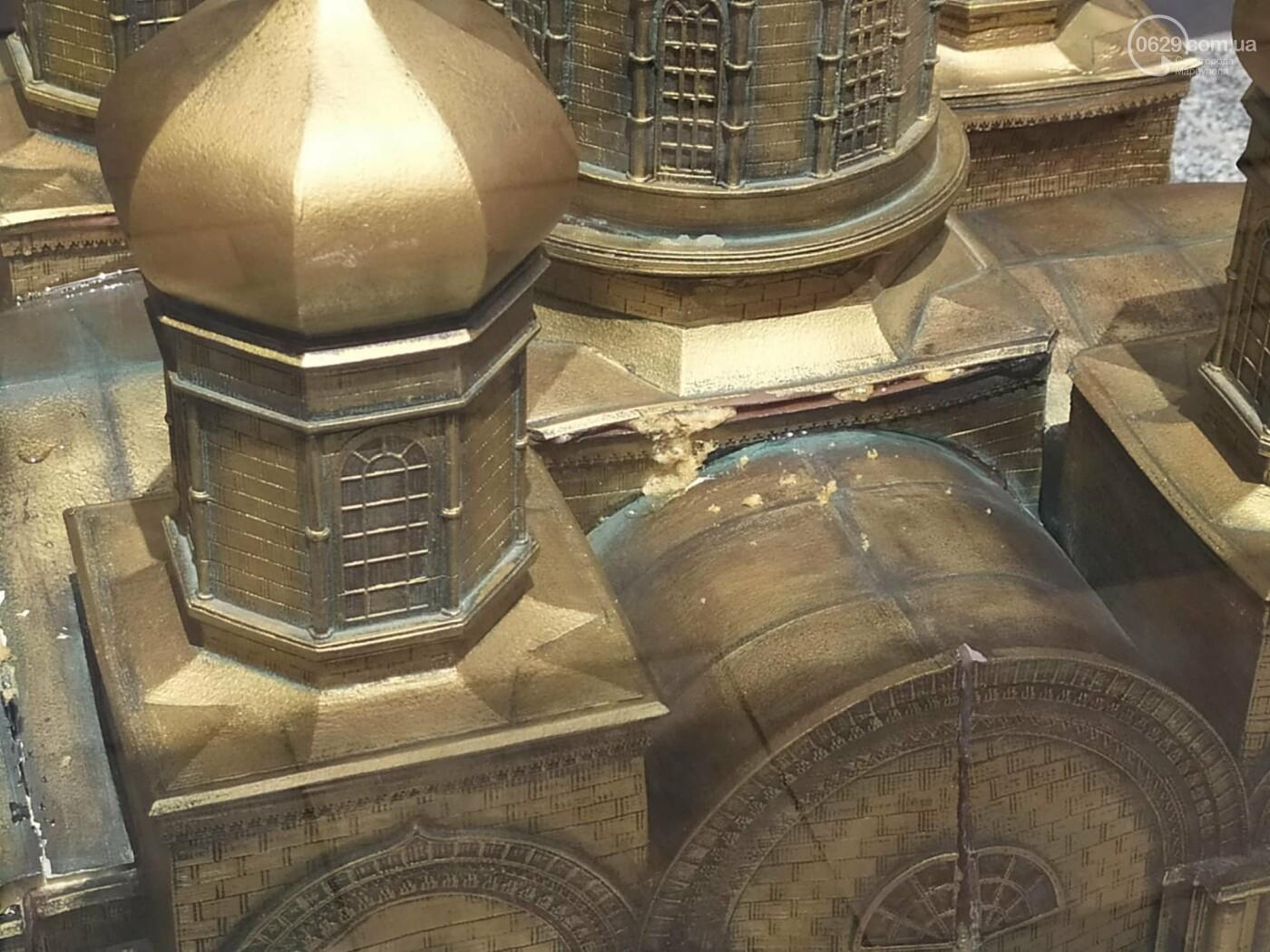 В Театральном сквере снова исчез макет храма Марии Магдалины, - ФОТО, фото-7