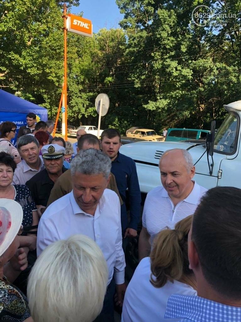 Юрий Бойко и его доверенное лицо Валентин Рыбачук встречаются с жителями Донецкой области, фото-1