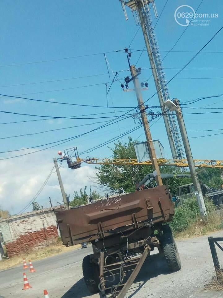 Под Мариуполем курортный поселок остался без электроэнергии,- ФОТО, фото-1