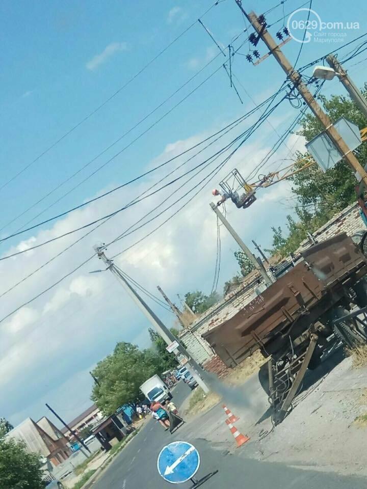 Под Мариуполем курортный поселок остался без электроэнергии,- ФОТО, фото-2