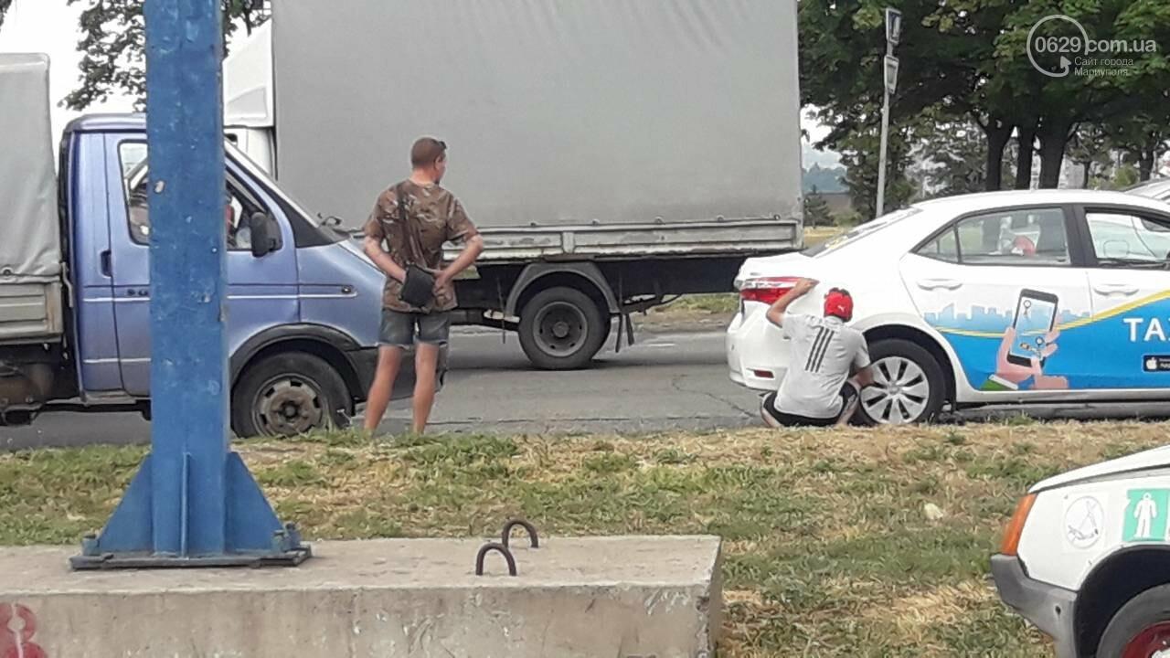 В Мариуполе грузовик догнал такси, - ФОТО, фото-5