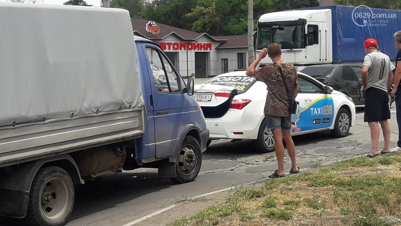 В Мариуполе грузовик догнал такси, - ФОТО, фото-2