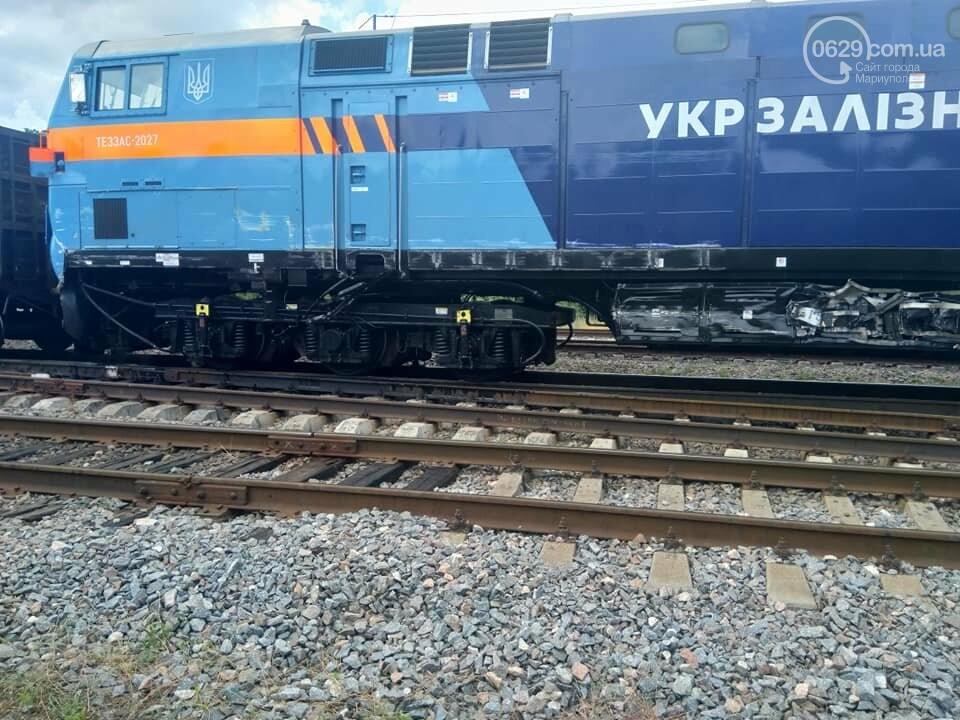 Авария на железной дороге: в Волновахе стоят поезда, следующие из Мариуполя, - ДОПОЛНЕНО ФОТО, фото-1