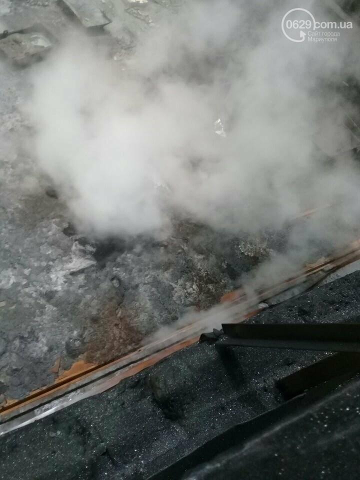 На мариупольском меткомбинате пролились в цеху тысячи тонн чугуна,- ФОТО, ВИДЕО, фото-5