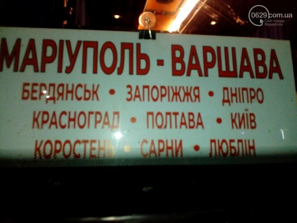 Автобус Варшава - Мариуполь вез пассажиров в...Донецк, - ФОТО, фото-2
