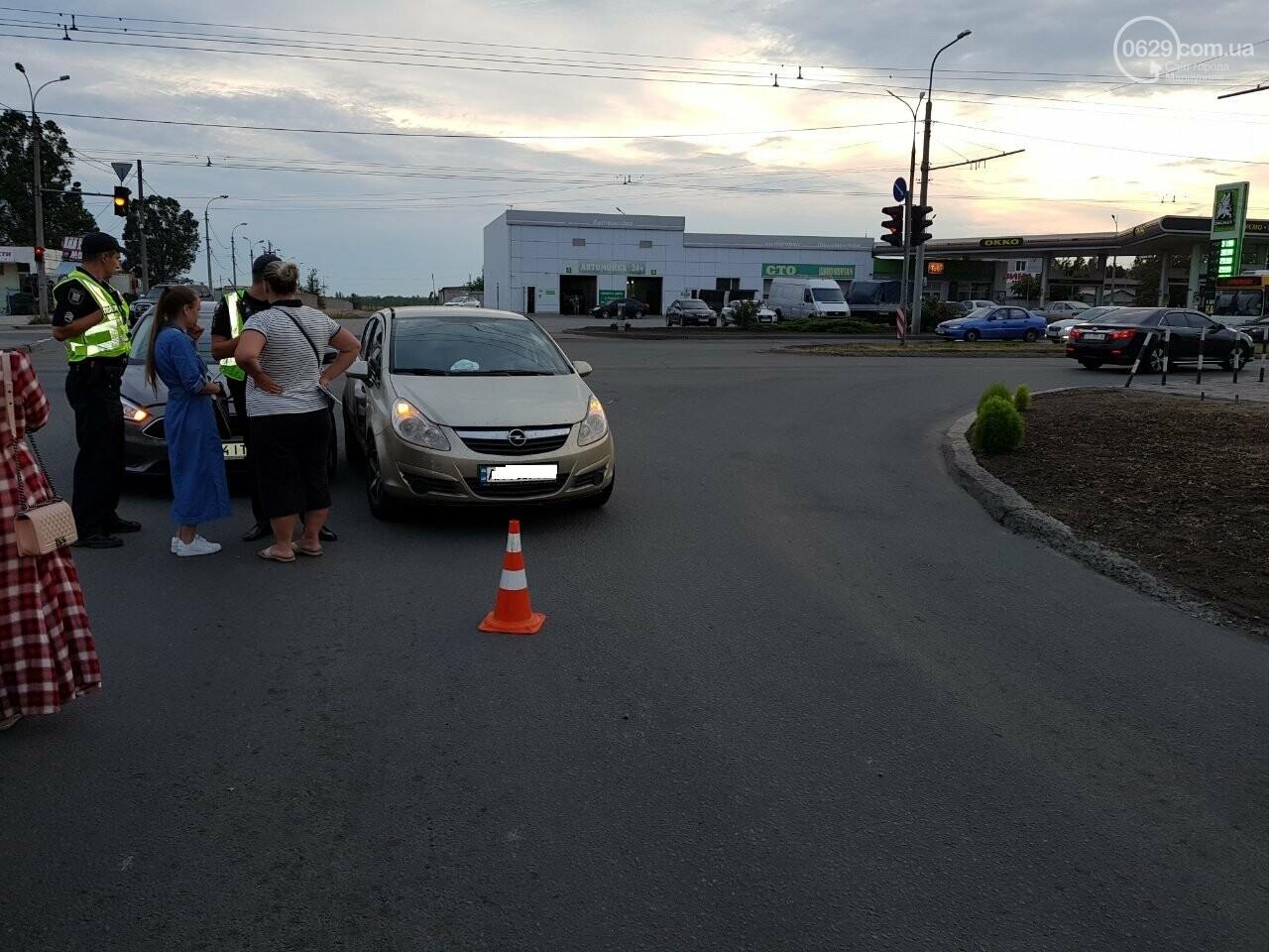 В Мариуполе не поделили перекресток «Опель» и «Форд», - ФОТО, фото-3