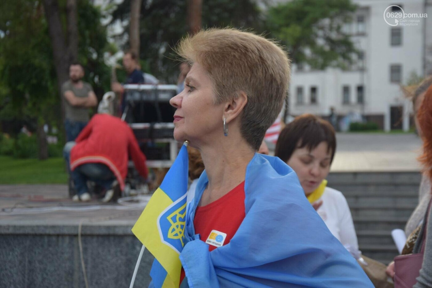 В Мариуполе радостно встретили Закон об украинском языке, - ФОТО, фото-4