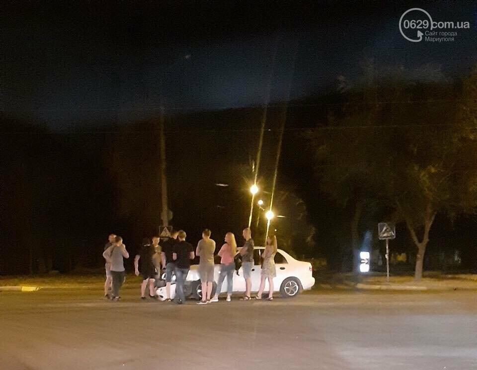 Ночью на Левобережье пьяный водитель на Кia попал в аварию, - ФОТО, фото-1