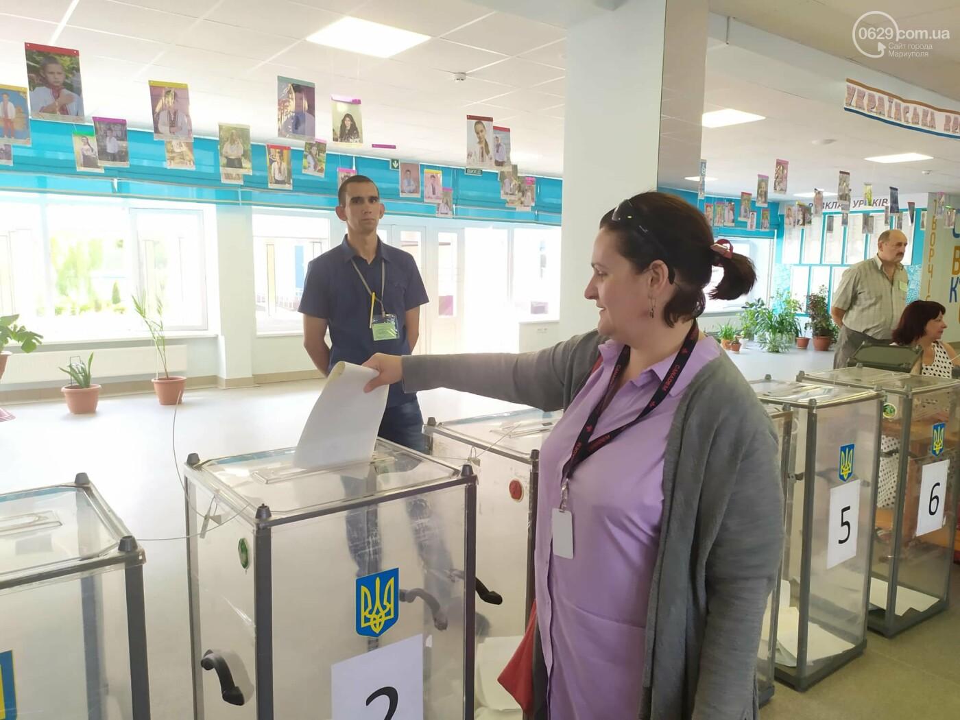 Выборы в Верховную Раду: как голосуют в Мариуполе, - ON-LINE, фото-6