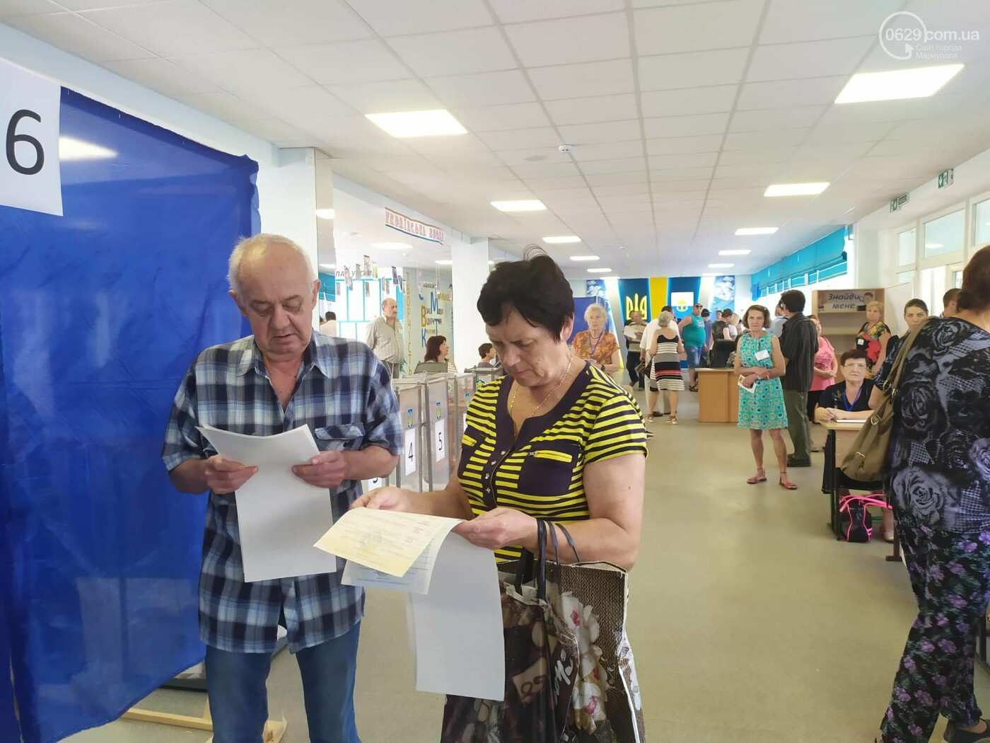 Выборы в Верховную Раду: как голосуют в Мариуполе, - ON-LINE, фото-9