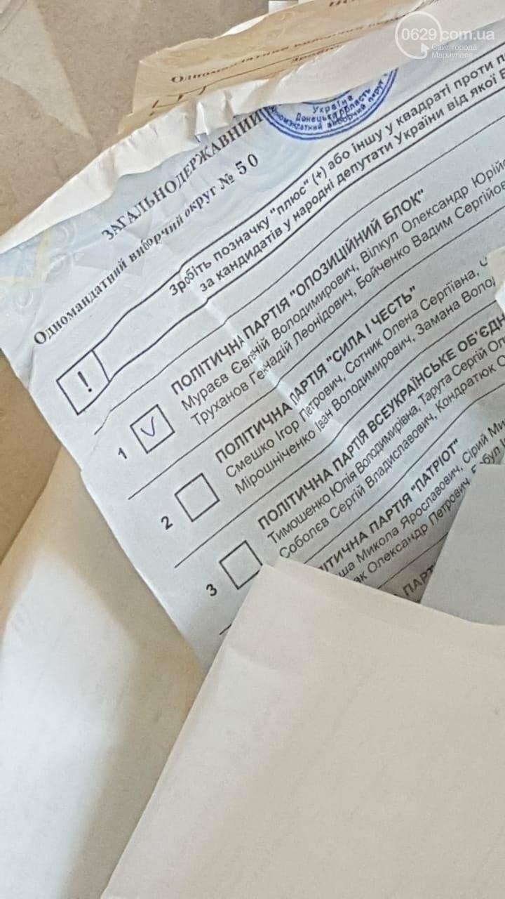 На участке, где баллотируется мэр-сепаратист, вбросили бюллетени, - ВИДЕО, фото-2