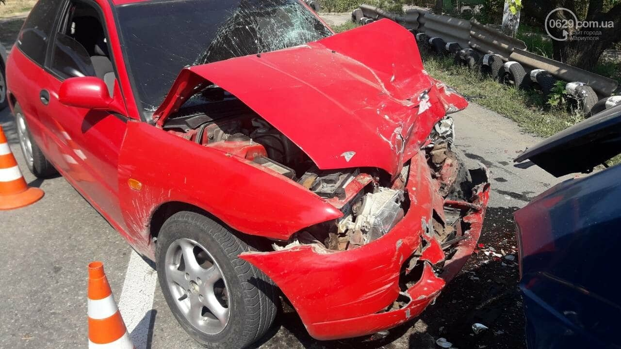 В Мариуполе Mitsubishi столкнулась с Газелью. Пострадал мужчина, - ФОТО, фото-7