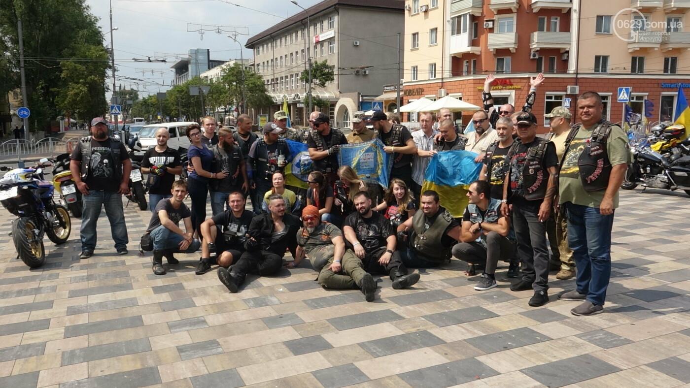 В Мариуполе встречали участников автопробега, объединившего Украину,- ФОТО, фото-11