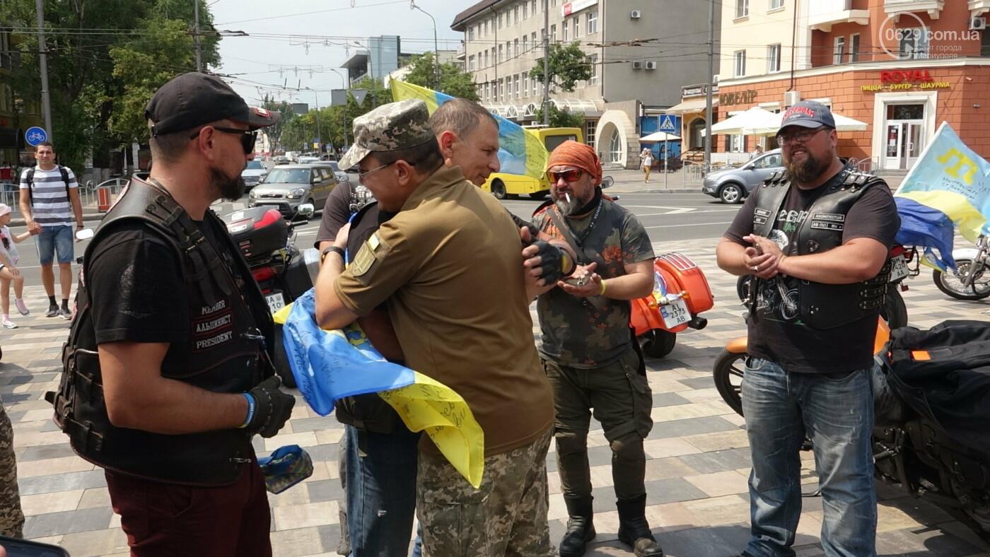 В Мариуполе встречали участников автопробега, объединившего Украину,- ФОТО, фото-8