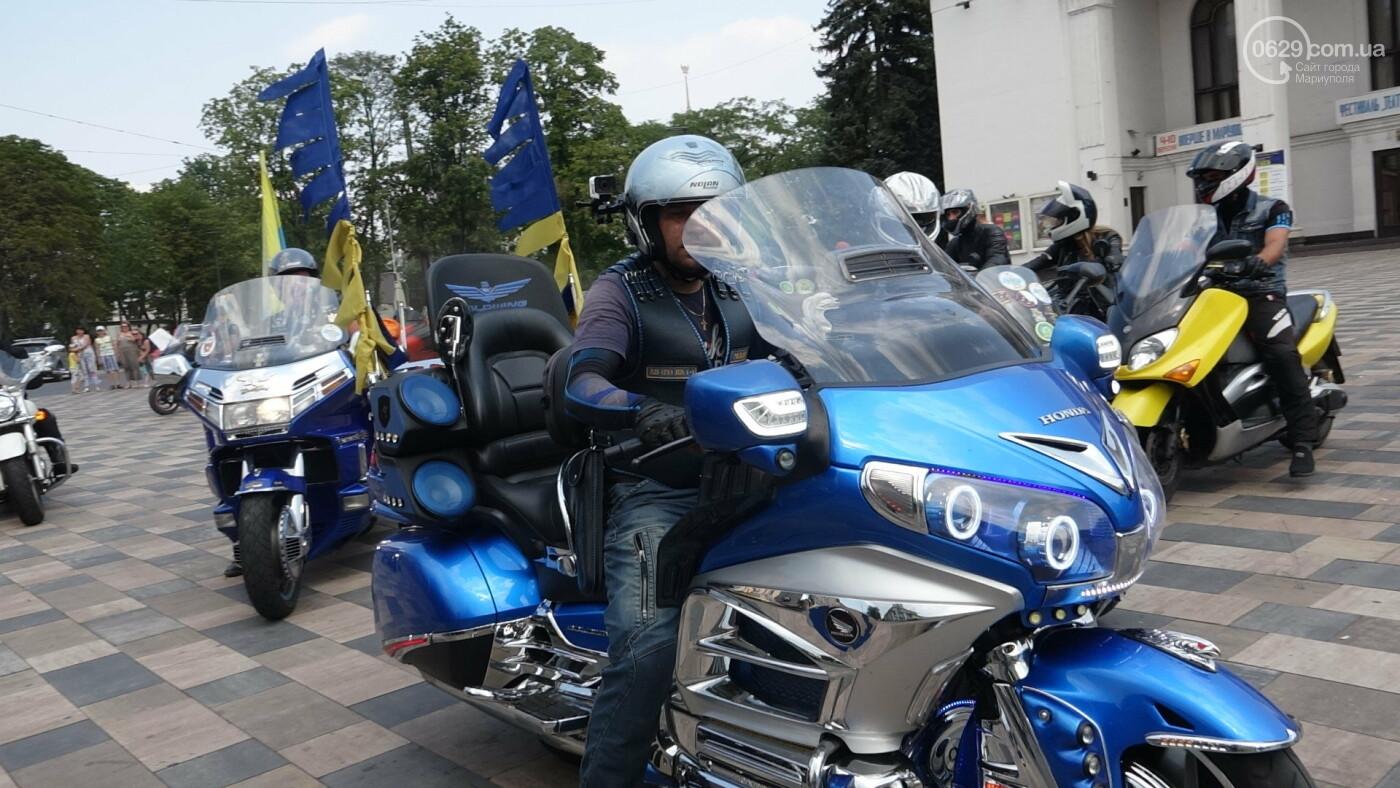 В Мариуполе встречали участников автопробега, объединившего Украину,- ФОТО, фото-2