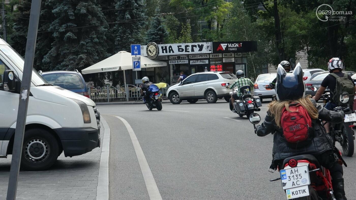 В Мариуполе встречали участников автопробега, объединившего Украину,- ФОТО, фото-1