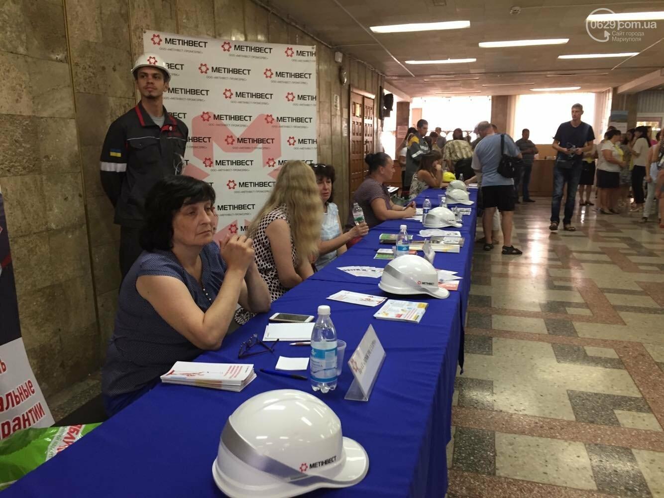 Как в Мариуполе крупные работодатели себе сотрудников искали,- ФОТО, фото-4