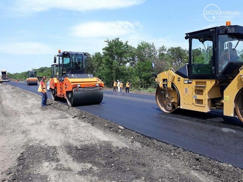 Продолжается ремонт трассы Запорожье - Мариуполь, - ФОТО, фото-2