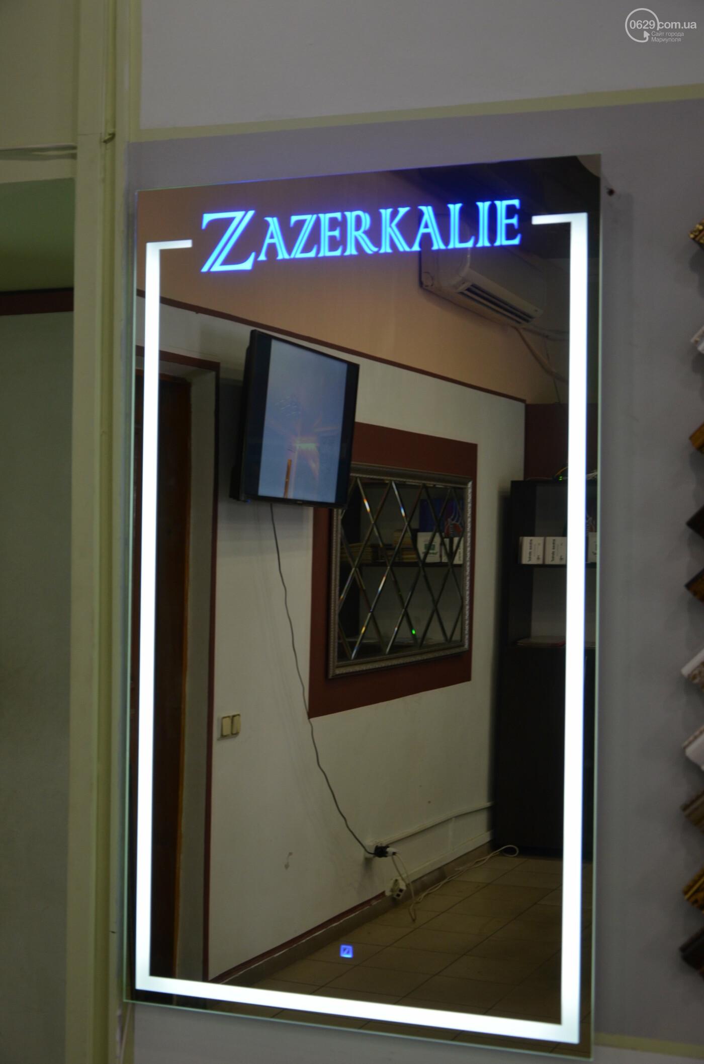 LED зеркала с логотипом заказчика от компании  «Zazerkalie»  – современные и стильные элементы интерьера, фото-1