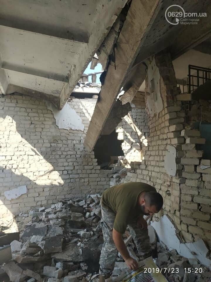 Появились снимки школы в Широкино, разрушенной войной,- ФОТО, фото-4