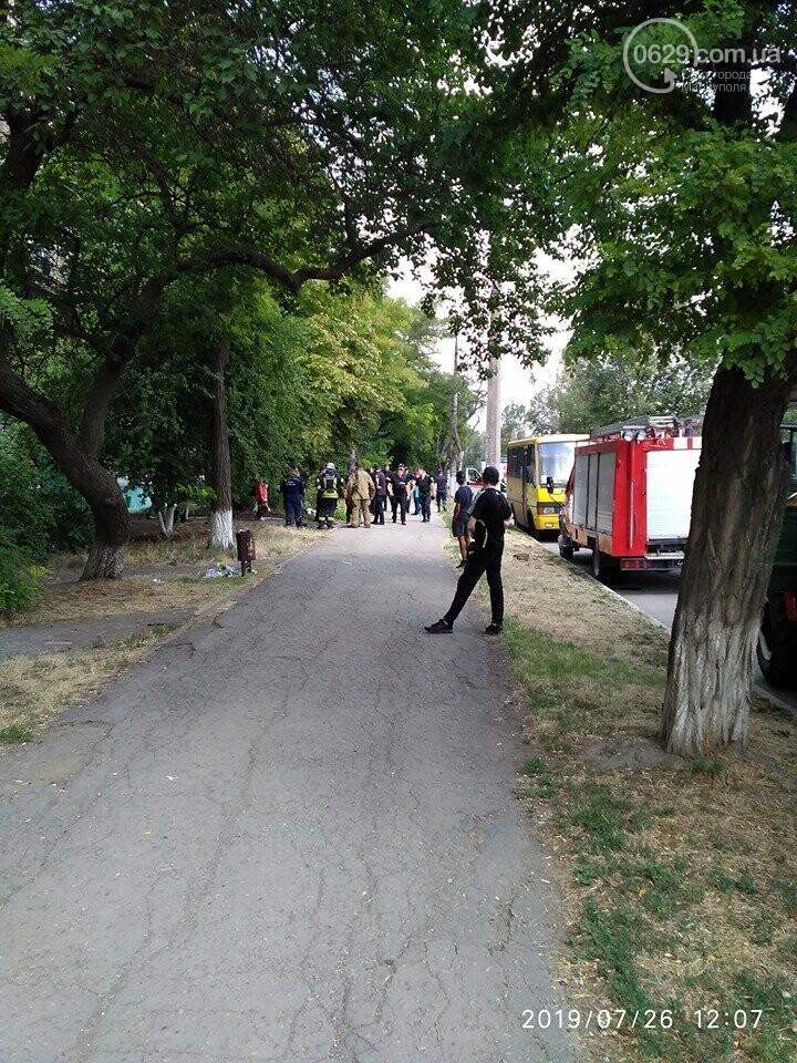 В Мариуполе мужчина с белой горячкой нашел гранату и устроил переполох, - ФОТО, ВИДЕО, фото-2