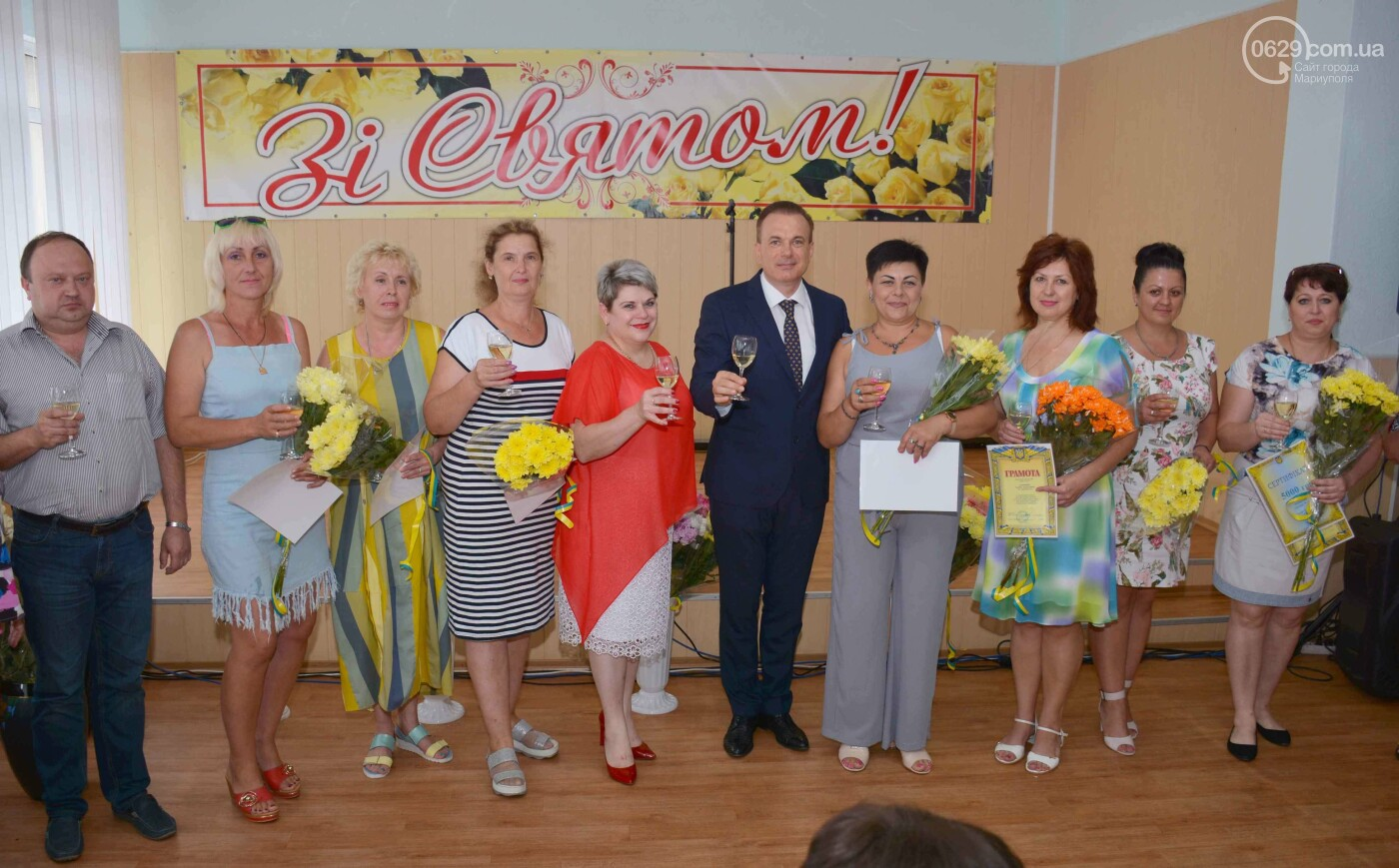 В Мариуполе чествовали лучших работников торговли (ФОТО), фото-10