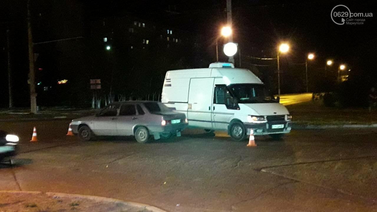 В Мариуполе микроавтобус столкнулся с ВАЗ, - ФОТО, фото-6