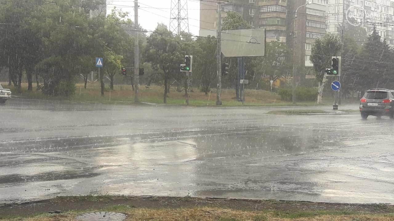 На Мариуполь обрушился ливень, - ФОТО, фото-5