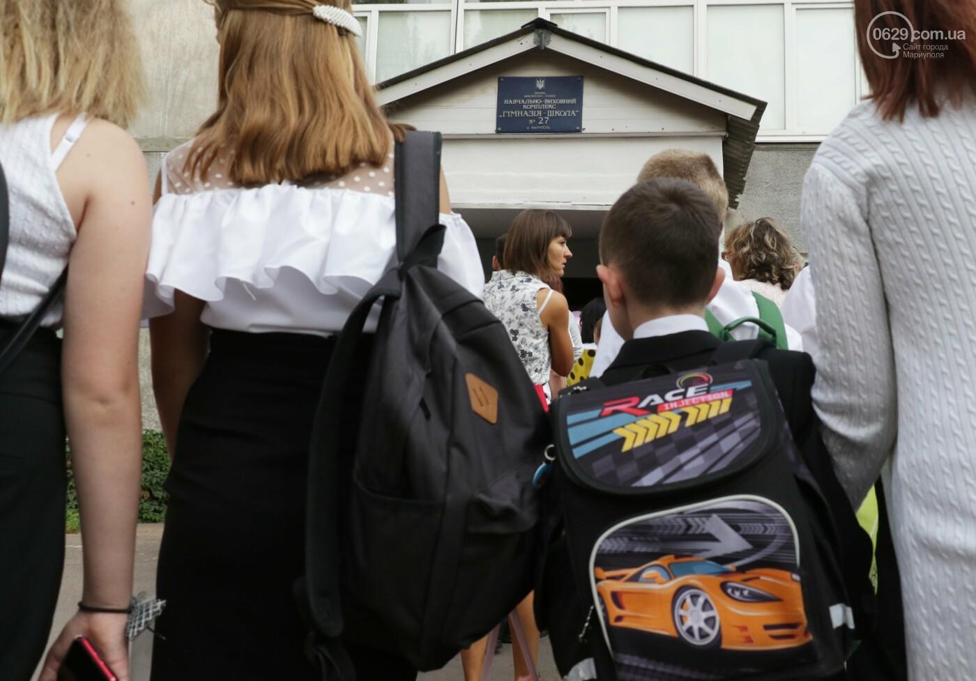 Первый звонок в Новой украинской школе: четыре тысячи первоклашек сели за парты в Мариуполе, - ФОТОРЕПОРТАЖ, фото-1