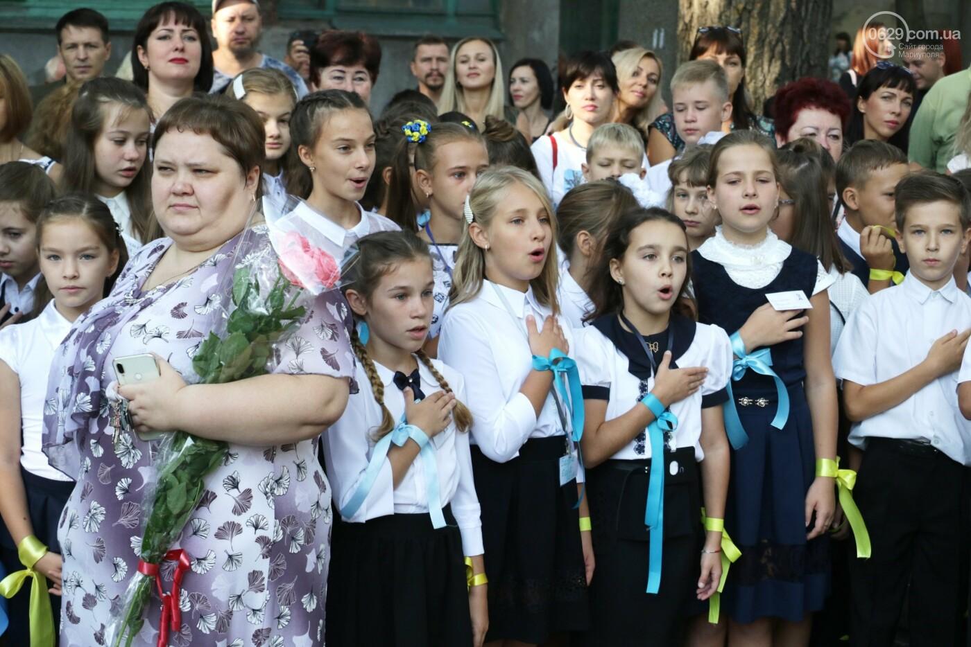 Первый звонок в Новой украинской школе: четыре тысячи первоклашек сели за парты в Мариуполе, - ФОТОРЕПОРТАЖ, фото-22