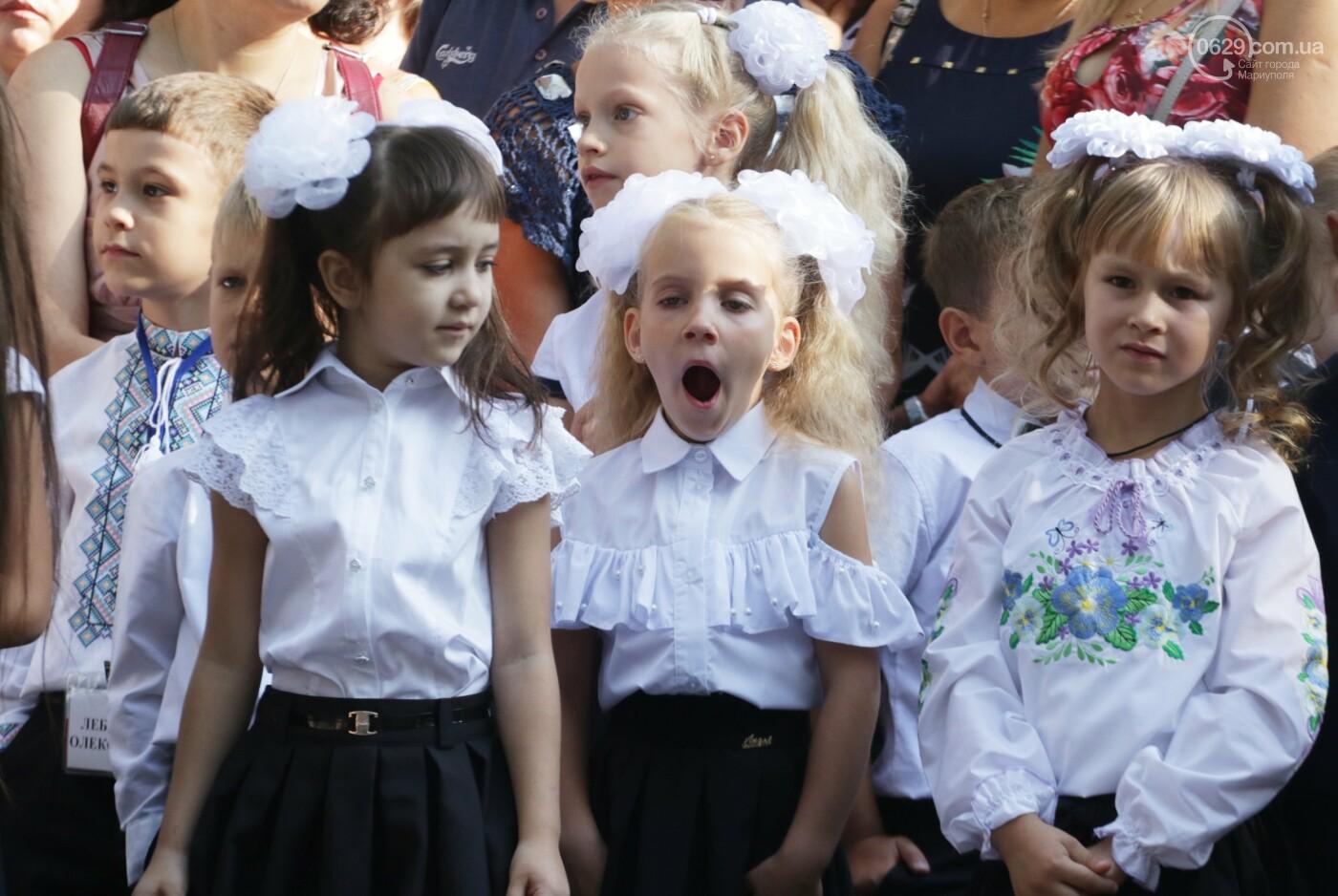 Первый звонок в Новой украинской школе: четыре тысячи первоклашек сели за парты в Мариуполе, - ФОТОРЕПОРТАЖ, фото-23
