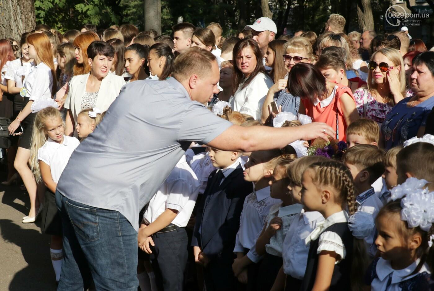 Первый звонок в Новой украинской школе: четыре тысячи первоклашек сели за парты в Мариуполе, - ФОТОРЕПОРТАЖ, фото-24