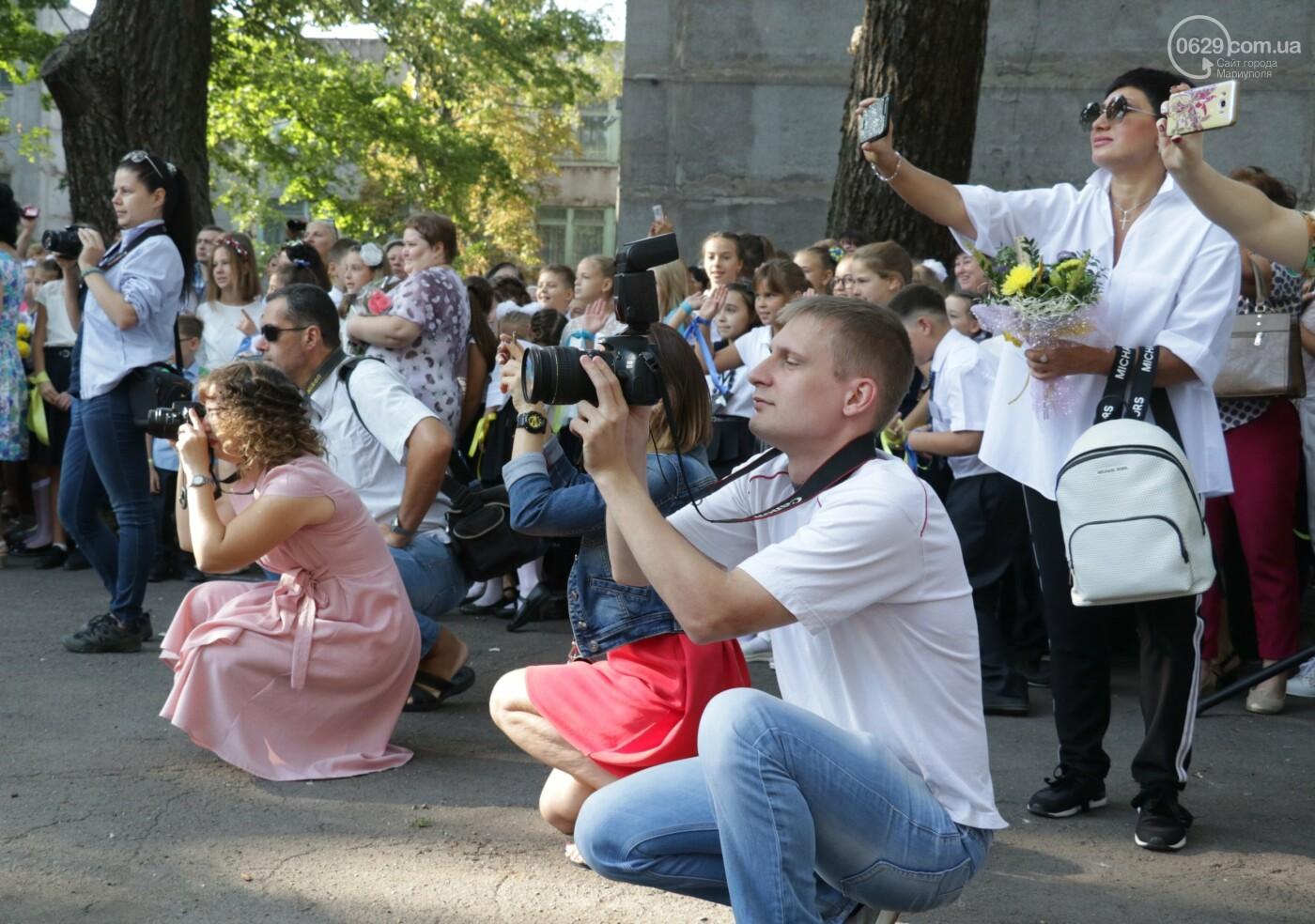 Первый звонок в Новой украинской школе: четыре тысячи первоклашек сели за парты в Мариуполе, - ФОТОРЕПОРТАЖ, фото-25