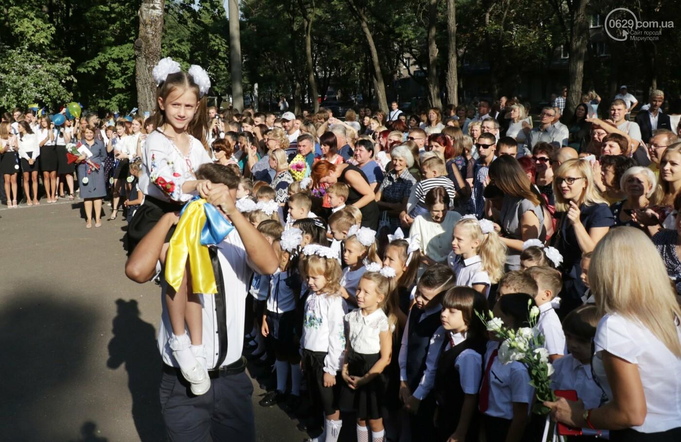 Первый звонок в Новой украинской школе: четыре тысячи первоклашек сели за парты в Мариуполе, - ФОТОРЕПОРТАЖ, фото-8