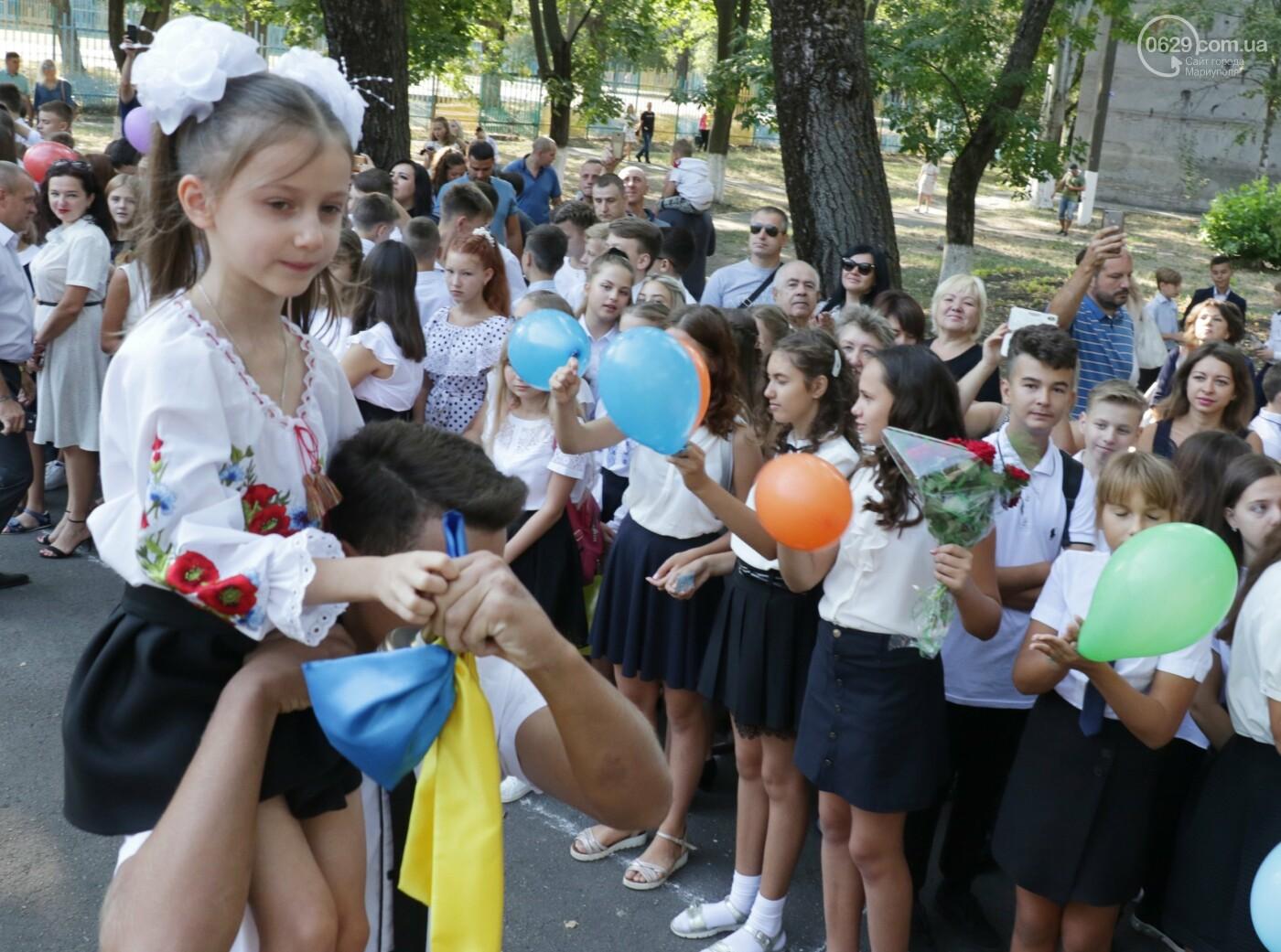 Первый звонок в Новой украинской школе: четыре тысячи первоклашек сели за парты в Мариуполе, - ФОТОРЕПОРТАЖ, фото-7