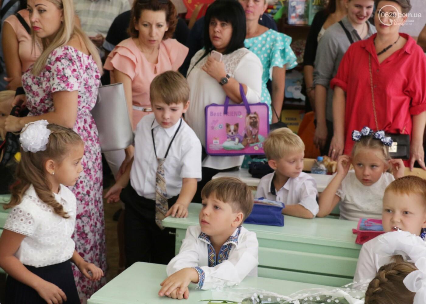 Первый звонок в Новой украинской школе: четыре тысячи первоклашек сели за парты в Мариуполе, - ФОТОРЕПОРТАЖ, фото-9