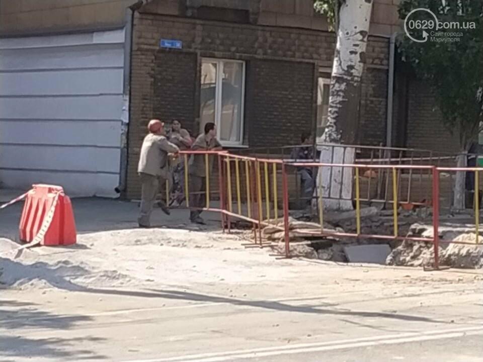 В Мариуполе из-за ремонта проспекта Мира жители не могут заехать в собственный двор, фото-5