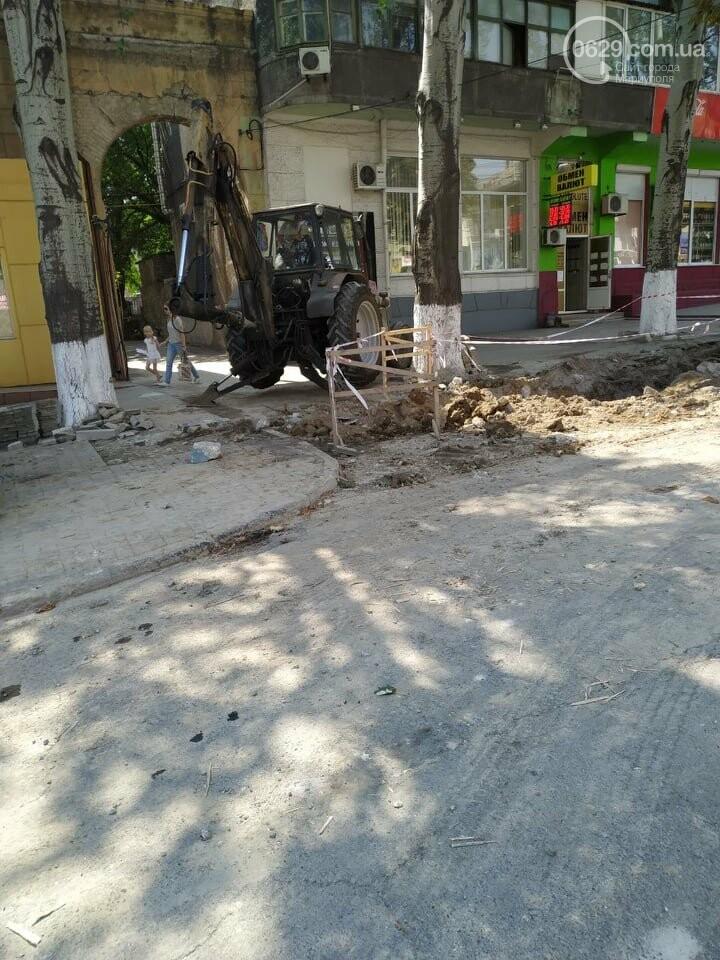 В Мариуполе из-за ремонта проспекта Мира жители не могут заехать в собственный двор, фото-3