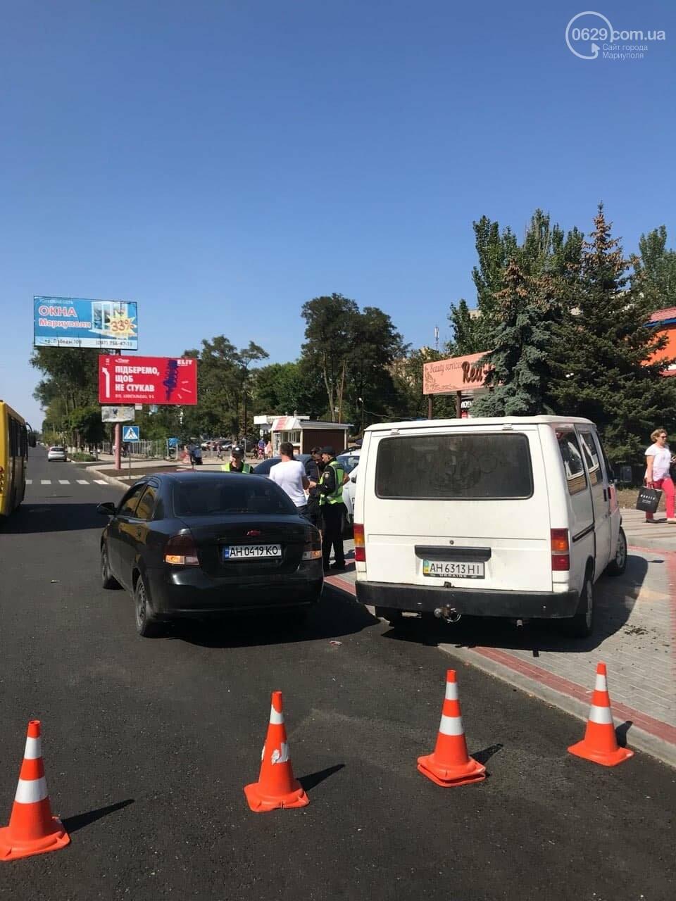 "На Левобережье Мариуполя столкнулись ""Форд"" и ""Шевроле"", - ФОТО, фото-1"