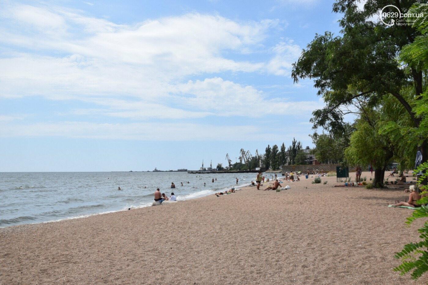 На двух пляжах Мариуполя в морской воде обнаружено превышение индекса кишечной палочки, фото-1