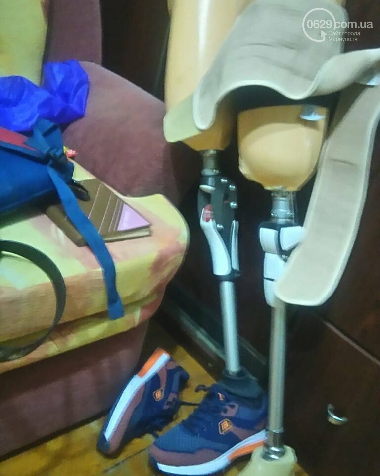 «Поделись»: Мариупольский диабетик-ампутант ведет свой дневник на 0629.com.ua, - ФОТО , фото-8