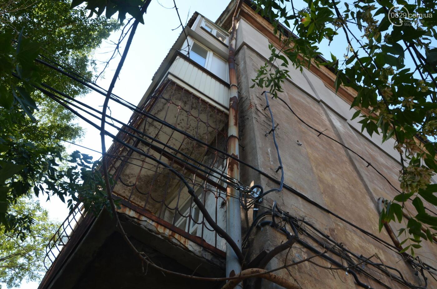 В центре Мариуполя старинный дом может обрушиться в любой момент, - ФОТО, фото-5