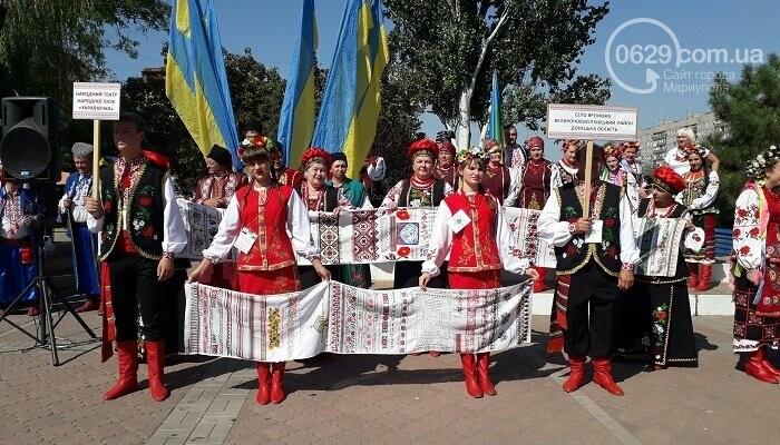 В Мариуполе зазвучал Всеукраинский фестиваль «Українська пісня єднає нас», фото-1