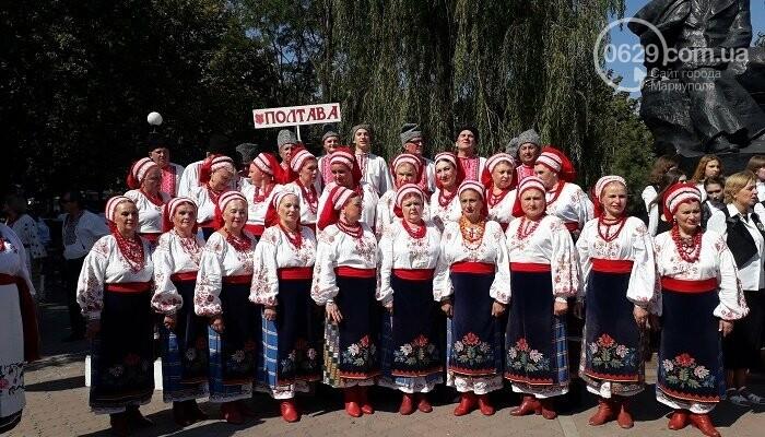 В Мариуполе зазвучал Всеукраинский фестиваль «Українська пісня єднає нас», фото-3